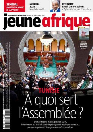 Jeune Afrique 2988 (15/04/2018) ; Tunisie : A quoi sert l'Assemblée ?