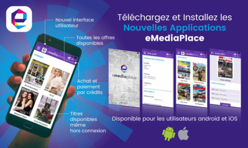 Les applications mobiles eMediaPlace